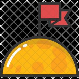 Flagged Planet Icon