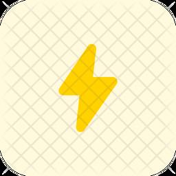 Flash Flat Icon