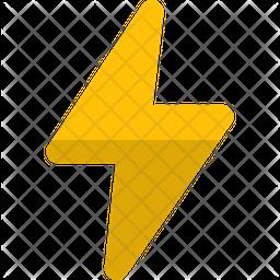 Flash Gradient Icon