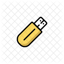 Flash Drive Icon Of Colored Outline Style Available In Svg Png Eps Ai Icon Fonts