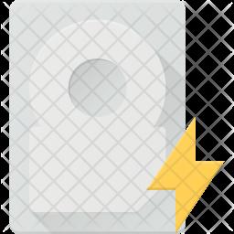 Flash harddisk Icon