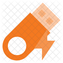 Flashdrive Flat Icon