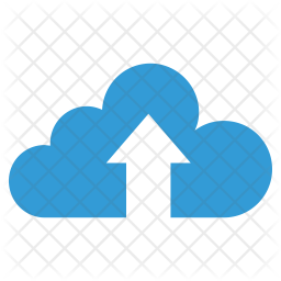 Upload to cloud Flat Icon