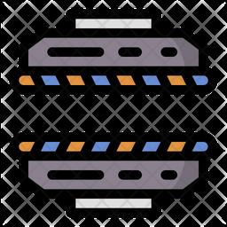 Flattening Machine Icon
