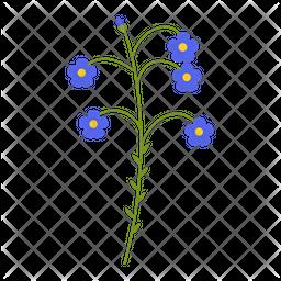 Flax blue Icon