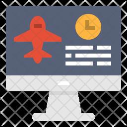 Flight booking Icon