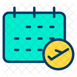 Flight Booking Date Icon