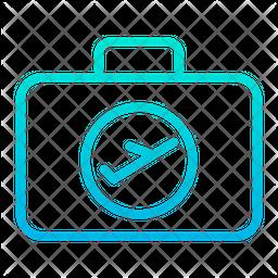 Flight Luggage Icon