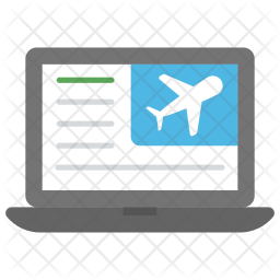 Flight Reservation Icon