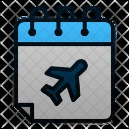 Flight Schedule Icon