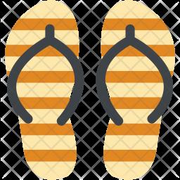 Flipflop Flat Icon