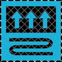 Floor heating Icon