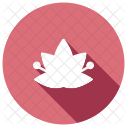 Floral Glyph Icon