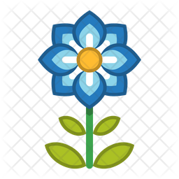 Flower Icon Of Flat Style Available In Svg Png Eps Ai Icon Fonts