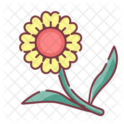 Flower Icon Of Colored Outline Style Available In Svg Png Eps Ai Icon Fonts