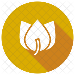 Flower Glyph Icon
