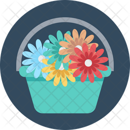 Flower Basket Icon