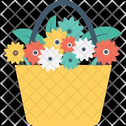 Flower Bucket Icon