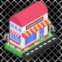 Flower Shop Icon