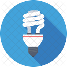 Fluorescent Bulb Icon