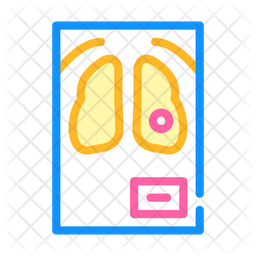 Fluorography Icon