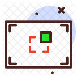 Focus Colored Outline Icon