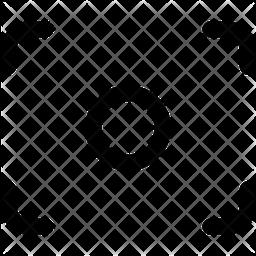 Focus Line Icon