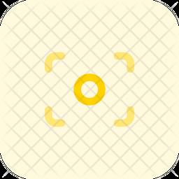 Focus Flat Icon