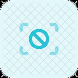 Focus Stop Flat Icon