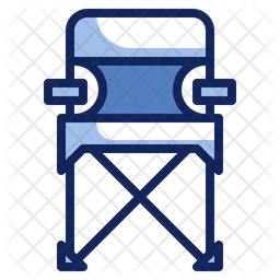 Folded Chair Icon