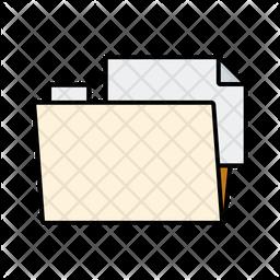 File in Folder Icon