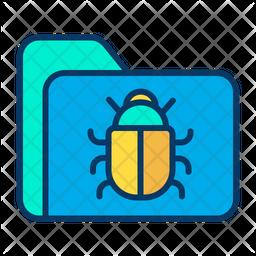Folder bug Icon