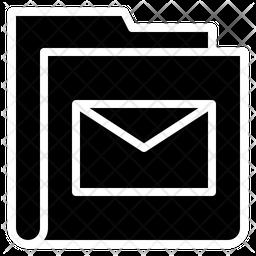 Folder Communication Icon