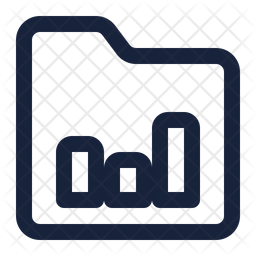 Folder graph Icon