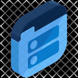 Folder listing Icon