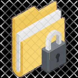 Folder Lock Icon