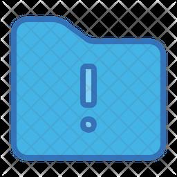 Folder notice Icon