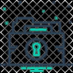 Folder-Protection Icon