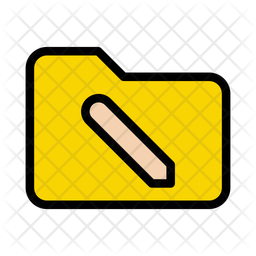 Folder Sync Icon Of Colored Outline Style Available In Svg Png Eps Ai Icon Fonts
