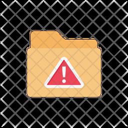 Folder Warning Icon