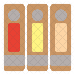 Folders Flat Icon