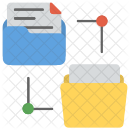 Folders Structure Icon