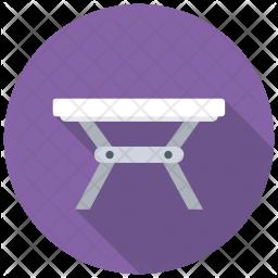 Folding Table Icon