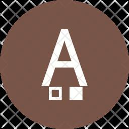 Font color Icon