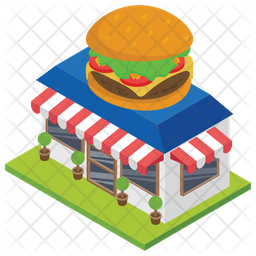 Food Corner Icon