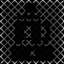 Food Processor Glyph Icon