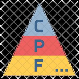 Food Pyramid Icon