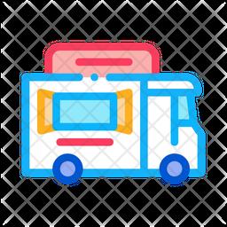 Food Van Icon