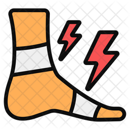 Foot Injury Icon