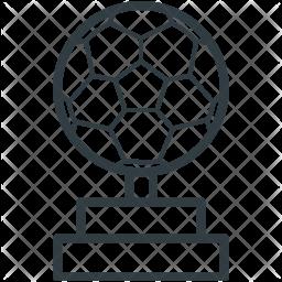 Football Line Icon